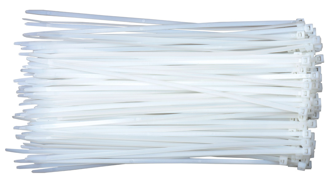 Cable Tie white Nylon 66 UL listed