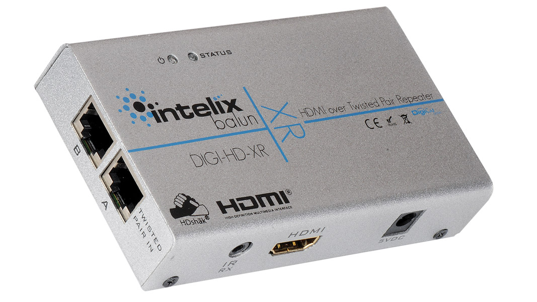 HDMI & IR over Twisted-Pair Extender & Repeater - AU power supply