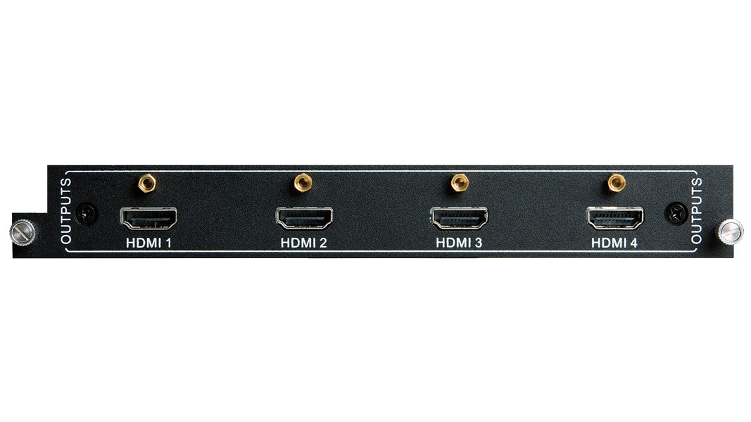 Output Card for Card-Based Matrix Switcher - HDMI