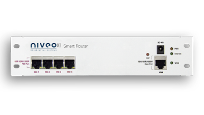 NRS-RC1 - Niveo SmartRouter Router, Enclosure mountable, Controller, Firewall, POE+ Switch